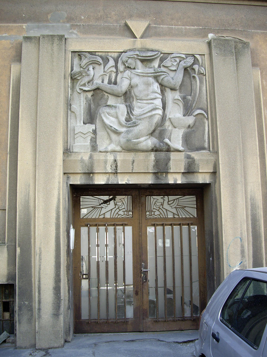 art deco entrance door by lumilanous on deviantart