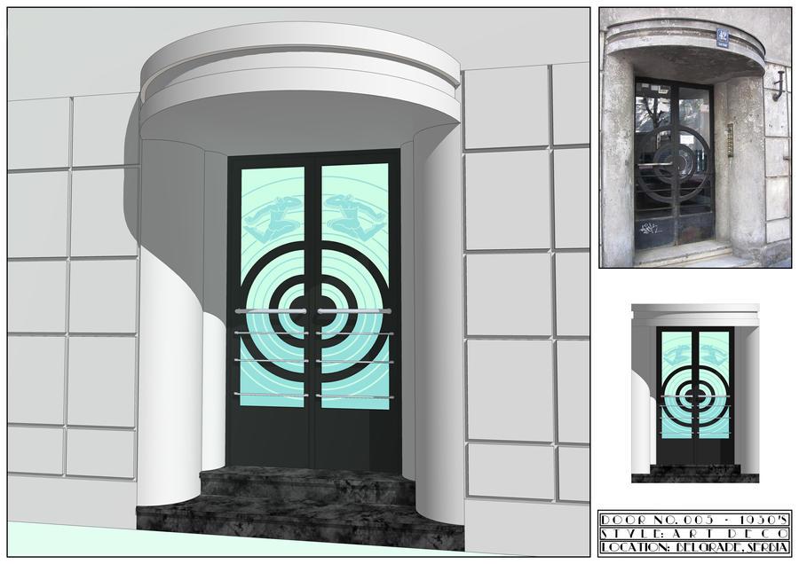 Art Deco   Door No.5 By Lumilanous ...