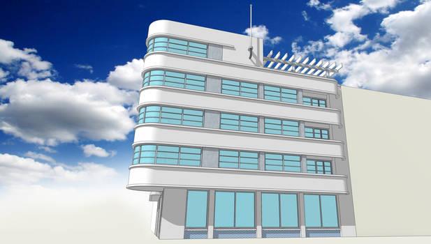 Nouveau Deco - concept building - B