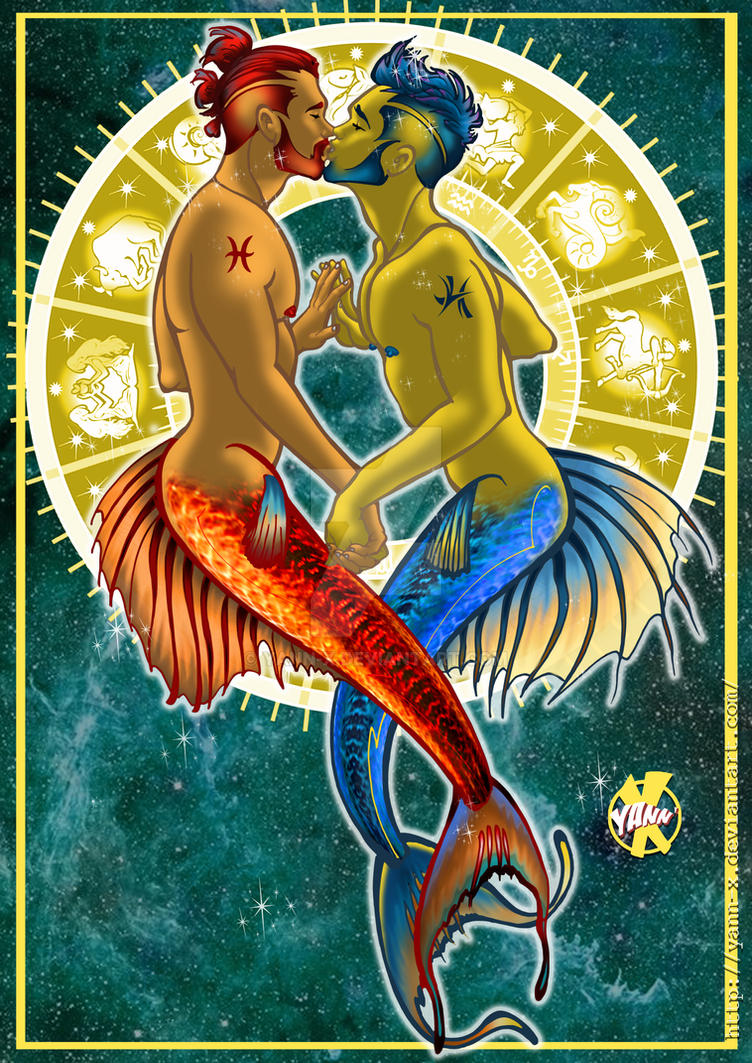 PISCES BOYS by YANN-X
