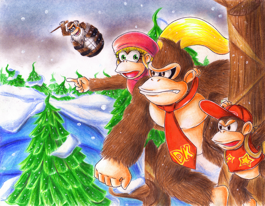 .: Donkey Kong Tropical Freeze :. by Akira-Hikari