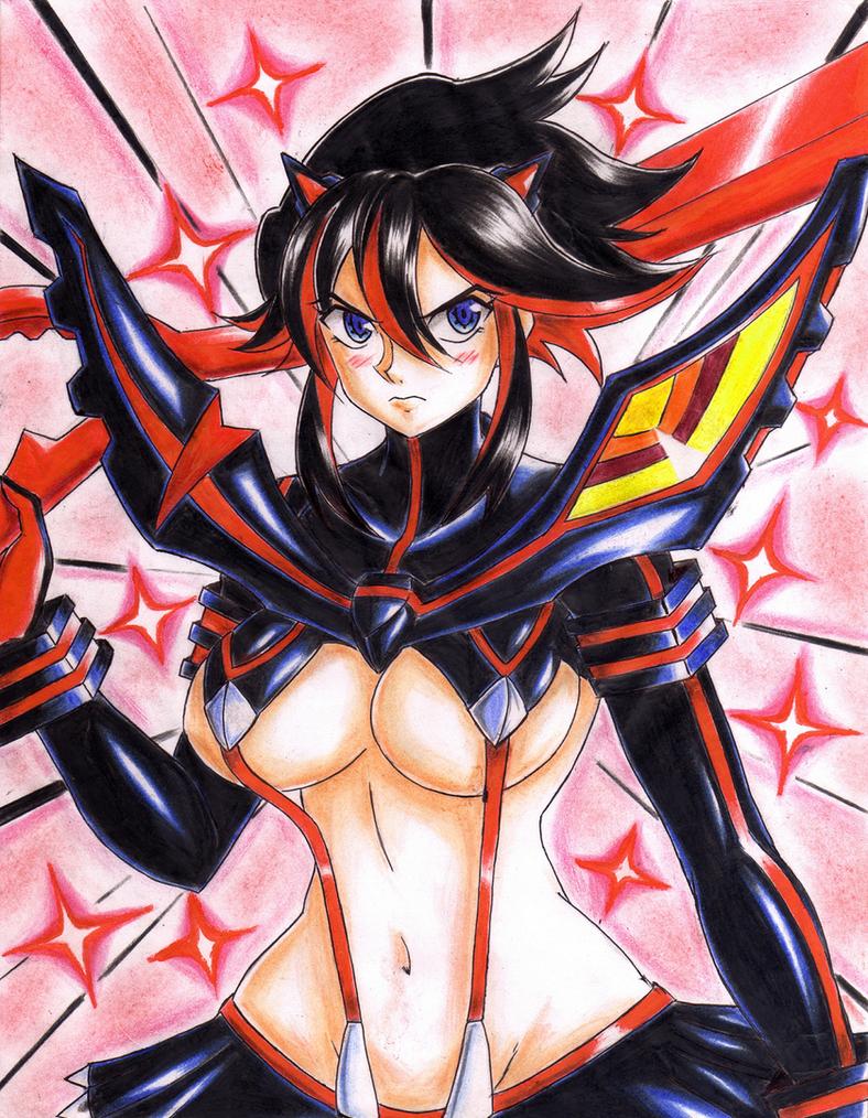 .: Matoi Ryuko Kill la Kill :. by Akira-Hikari