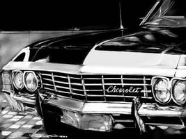 Supernatural Chevy by acostamt