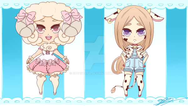 Adoptables Barn Animal (open) by TacoCandy