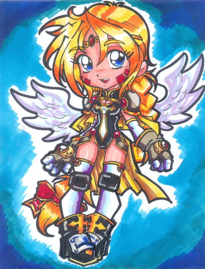 ThE ChIBi aNgEl vAnGeLiC by project-fallen-angel