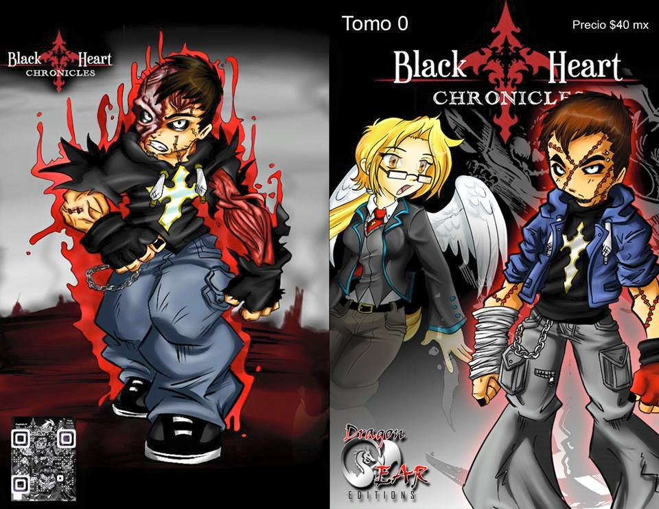 Reedicion Portadas THE BLACKHEART CHRONICLES # 0 by project-fallen-angel