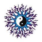 Blue Flame Yin Yang by RaeaSolvara