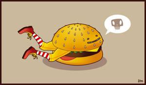 Hungry Hamburger by Zim-dez