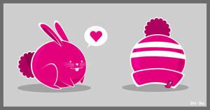 Rabbit in Love by Zim-dez
