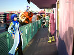 Vocaloid Disney Vacation: Pop Century Lady