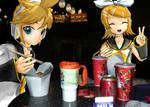 Vocaloid Disney Vacation: Pop Century Food Court