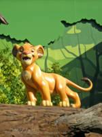 Simba at Disney's Art of Animation by TheKohakuDragon