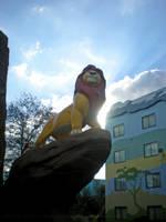 Mufasa at Disney's Art of Animation by TheKohakuDragon