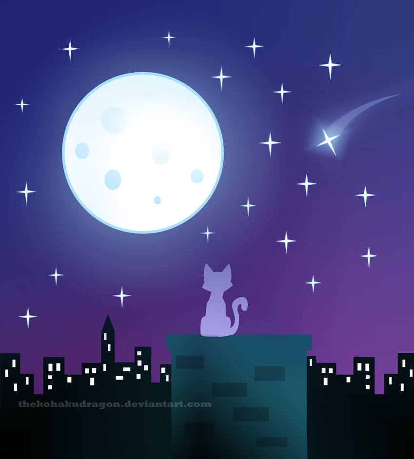 Moonlight by TheKohakuDragon