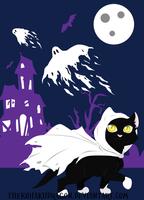 Ghost Kitty by TheKohakuDragon