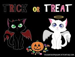 Trick or Treat! by TheKohakuDragon