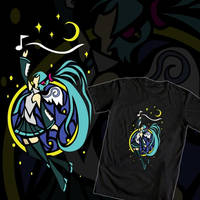 Angel Miku (Hatsune Miku T-Shirt Design #1) by TheKohakuDragon