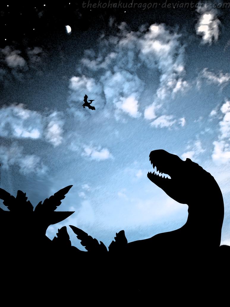 Jurassic Sky by TheKohakuDragon