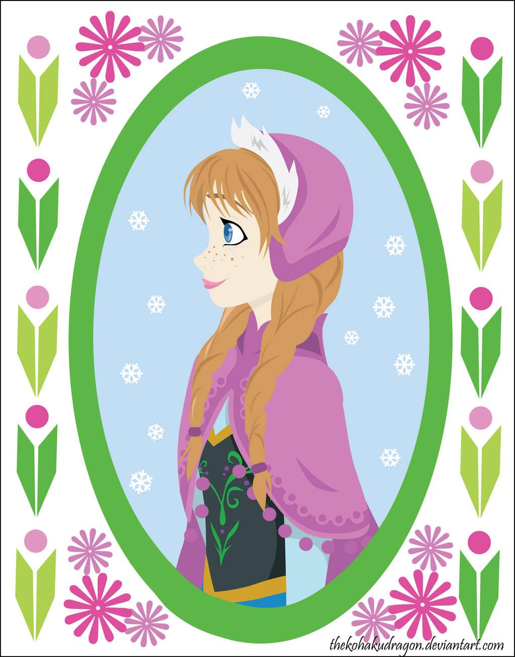 Princess Anna by TheKohakuDragon