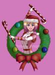 Christmas Gwenpool by TheKohakuDragon