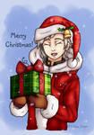 Christmas Atsushi by TheKohakuDragon