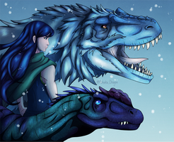 The Frost Mage and Her Guardians by TheKohakuDragon