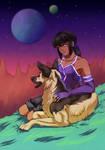 Doggust 2021 - Lyra and Subaru by TheKohakuDragon