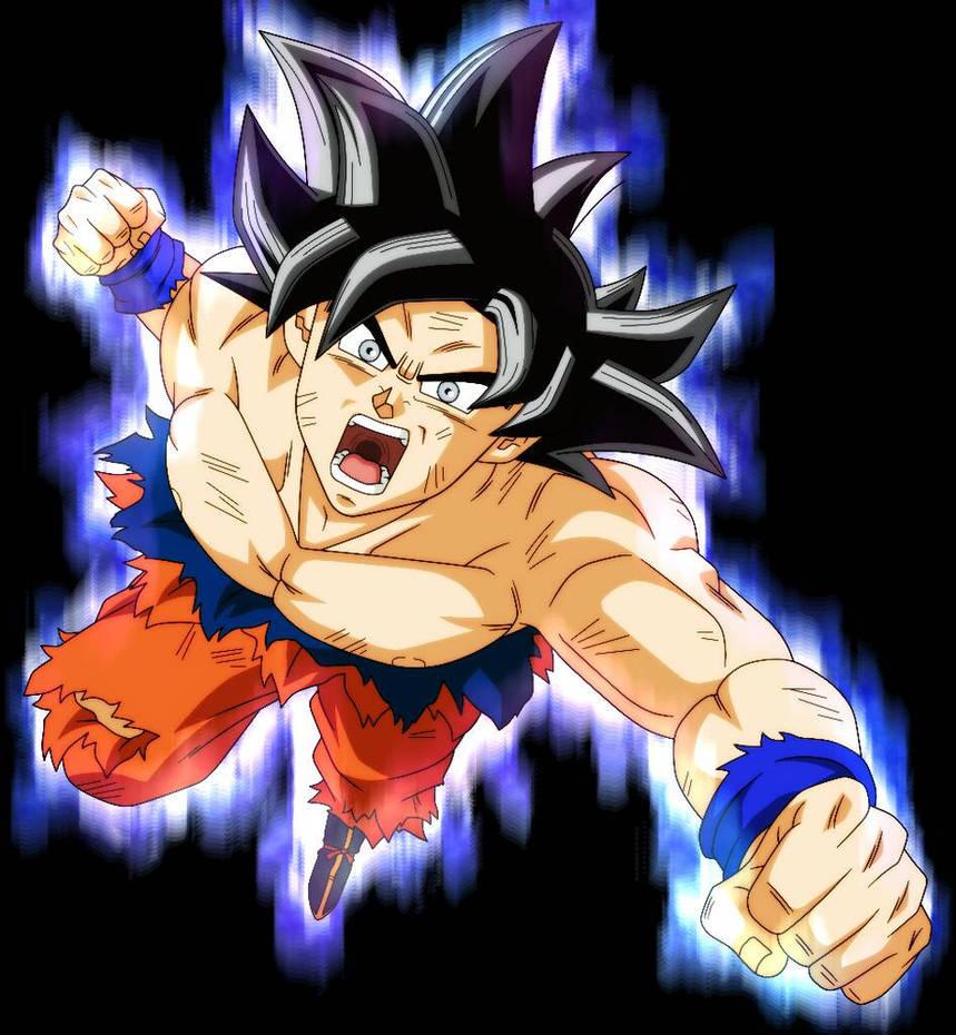 Goku ultra instinto by alejandrodbs on deviantart - Imagenes de dragon ball super ultra instinto ...