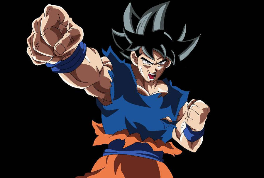 Los Mejores Fondos De Pantalla De Goku Migatte No Gokui Hd: Goku Ultra Instinto Migatte No Gokui RENDER By