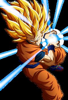 Goku SSJ 3 KameHameHa