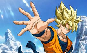 Goku SSJ The Movie 2018 YUYA TAKAHASHI by AlejandroDBS