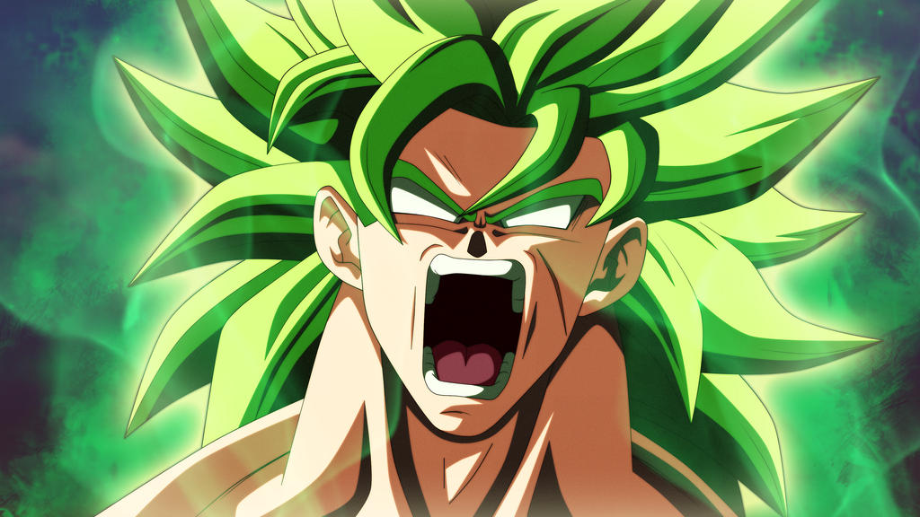 BROLY SSJL 2018 DRAGON BALL SUPER BROLY by AlejandroDBS