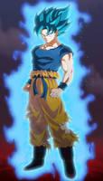 GOKU SSJBLUE DRAGON BALL SUPER BROLY
