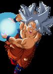 Goku Ultra Instinto Dominado by AlejandroDBS
