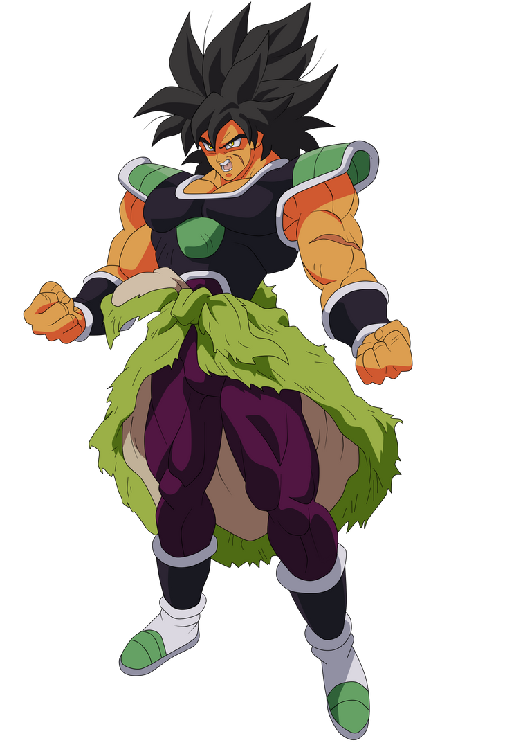 BROLY RENDER by AlejandroDBS