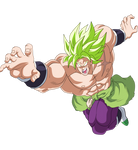 BROLY FULL POWER DRAGON BALL SUPER BROLY