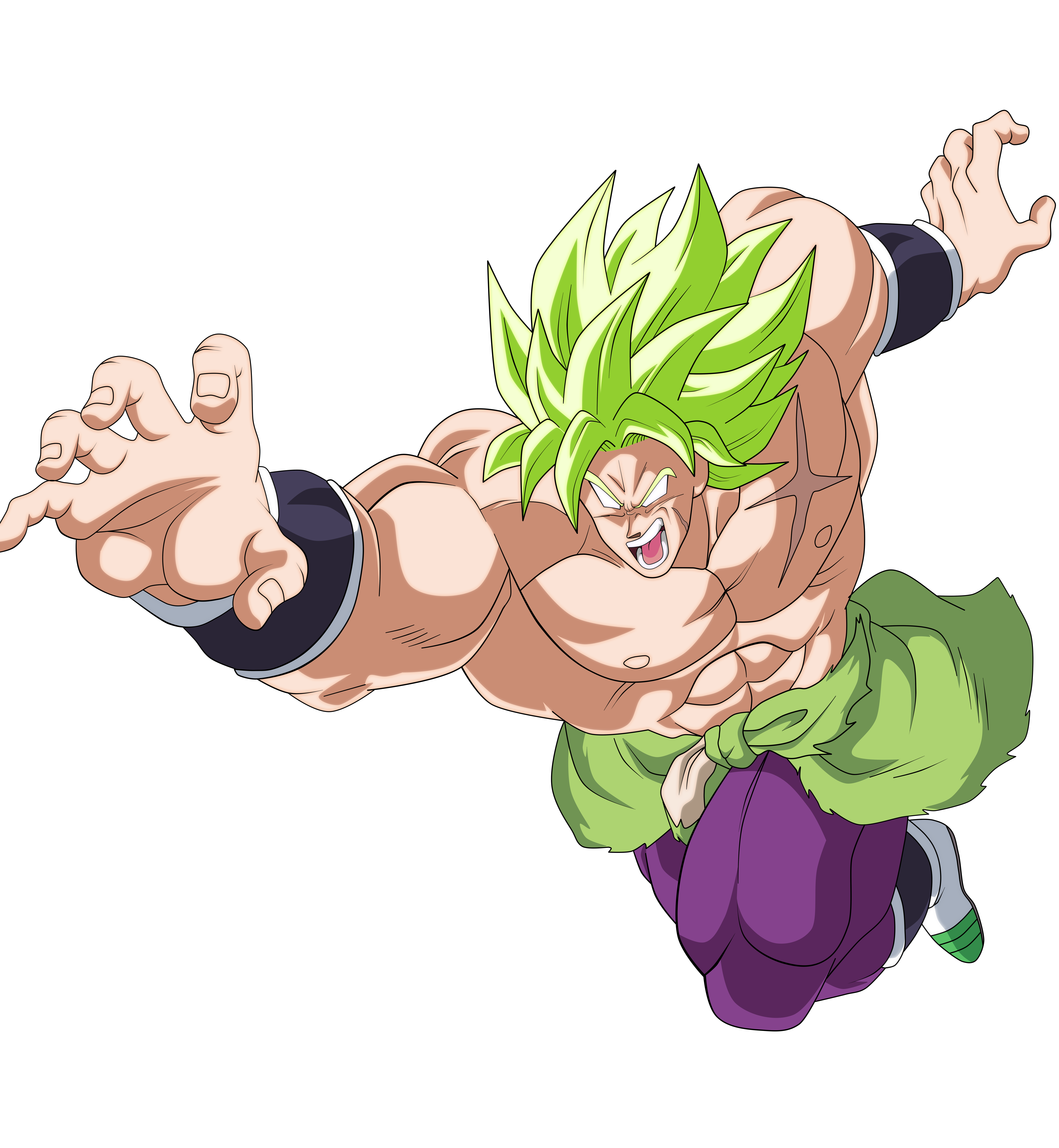 BROLY FULL POWER DRAGON BALL SUPER BROLY by AlejandroDBS