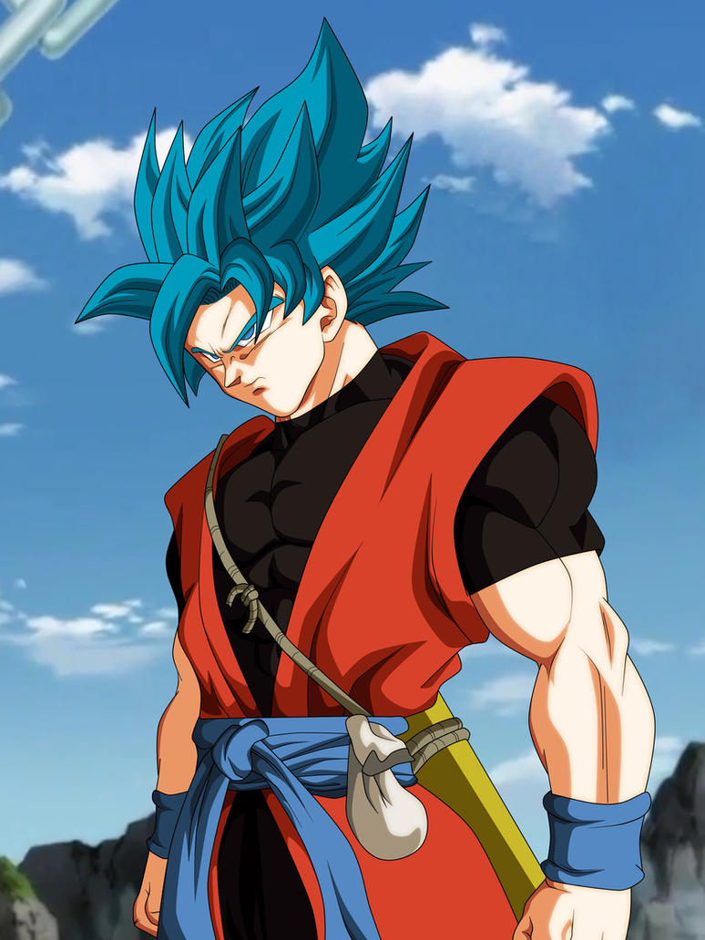 GOKU XENO SSJBLUE by AlejandroDBS