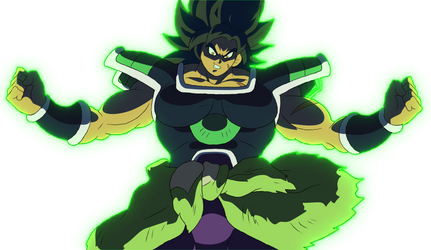 Broly Iracundo DBSUPERBROLY by AlejandroDBS