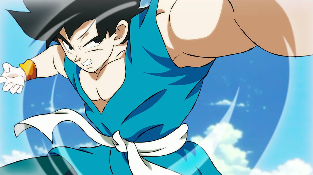 Goku Final  Z/Super by AlejandroDBS