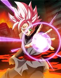 Black Goku SSJ Rose by AlejandroDBS