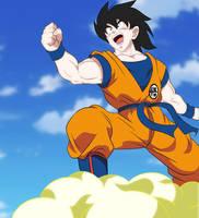 GOKU DRAGON BALL SUPER 2019