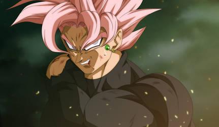 Balck Goku SSJ ROSE