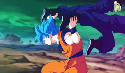 Goku VS Prisioneros DBS MANGA 50