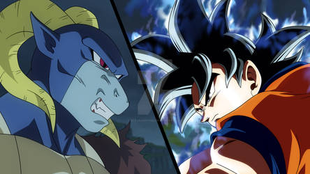 MORO VS GOKU Manga 59 Dragon Ball Super