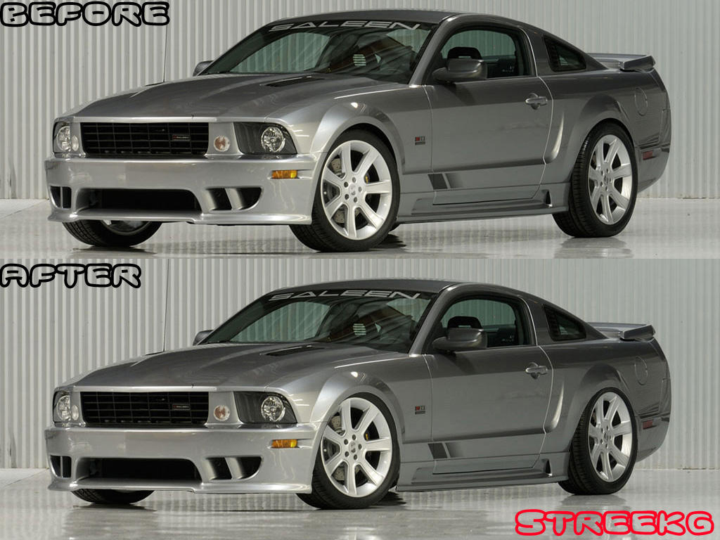 2005 Saleen Mustang lowered by StreekG on DeviantArt