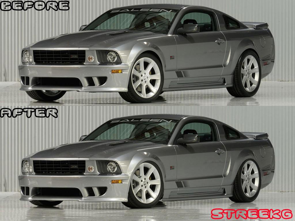 2005 Saleen Mustang lowered by StreekG on DeviantArt