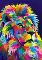 Lion Vector Fullcolor