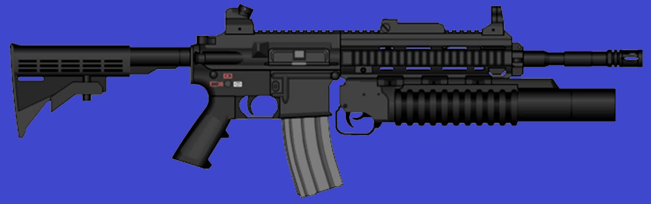 HK416 M203 USMC