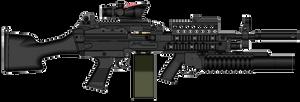 M216 Trijicon ACOG M203A2